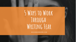 writing fear