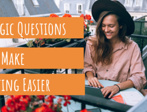 4 Magic Questions That Make Writing Easier
